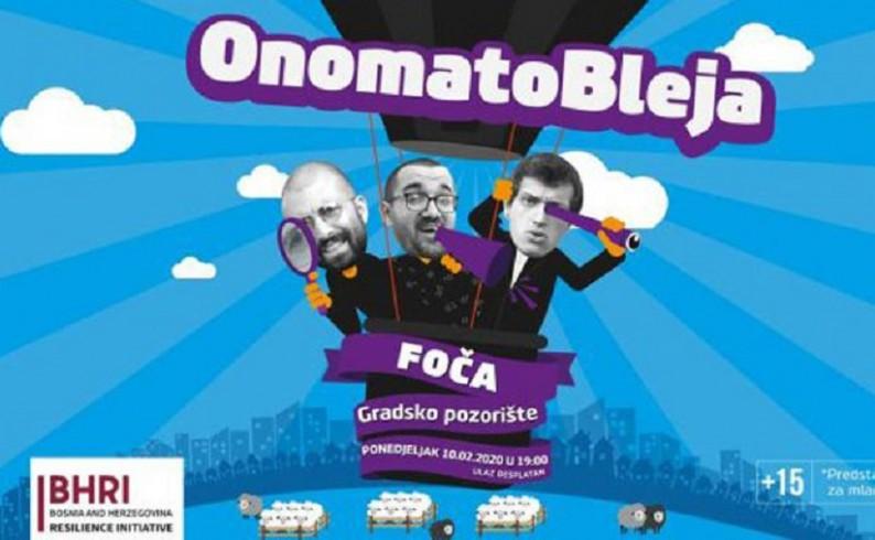 """""""Onomatobleja šou"""" u Foči : Urnebesna satira o našoj svakodnevnici"""