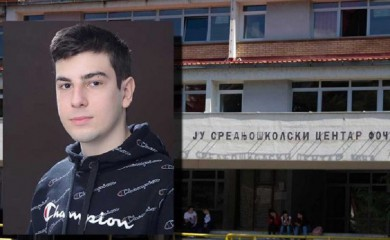Đorđe Milanović đak generacije SŠC Foča