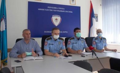 PU Foča: Smanjena stopa kriminaliteta, povećano narušavanje javnog reda i mira