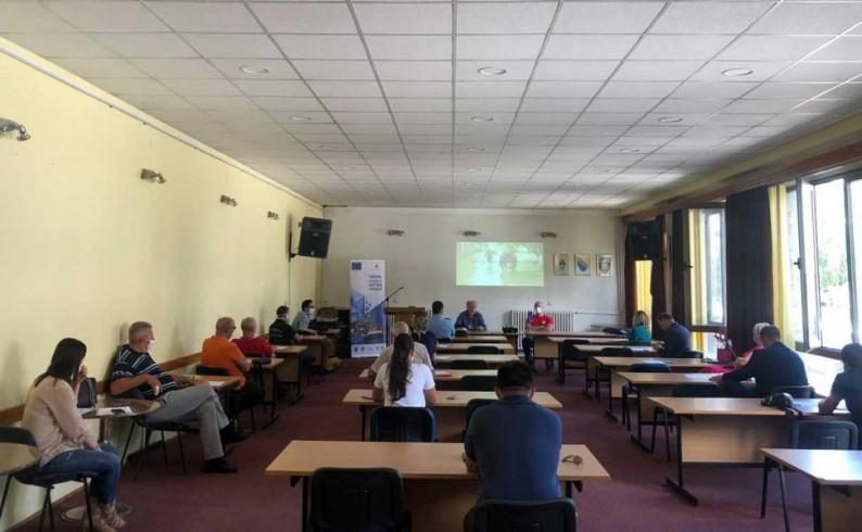 """Projekat """"T.A.R.A."""" : Unaprijediti bezbjednost u pograničnom području Plužina i Foče"""