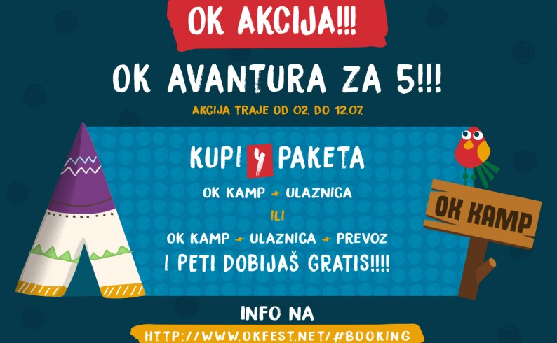 Nektar OK Fest 2020 U OK avanturu kreni sa prijateljima!