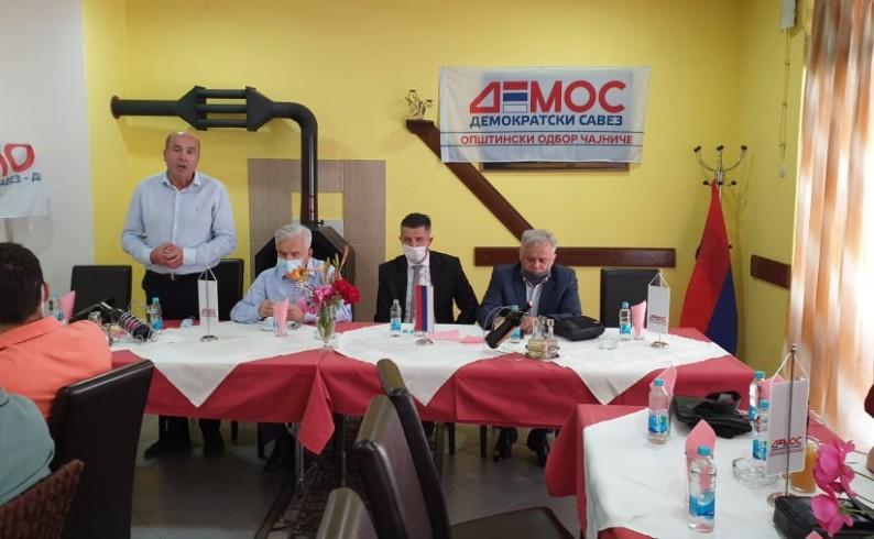 Čajniče: Bojan Tanasković kandidat Demosa za načelnika opštine