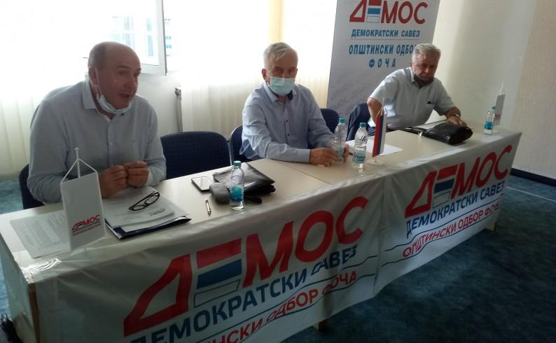 Demos u Hercegovini cilja jednog načelnika i ulazak u lokalne skupštine