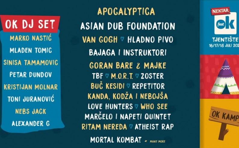 OK Fest pomjeren za juli naredne godine