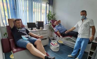 Krv darovalo 20 pripadnika PU Foča