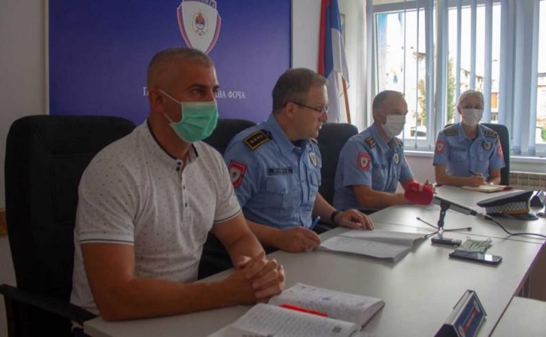 PU Foča: Povećan kriminalitet u odnosu na juli prošle godine