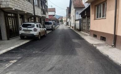 Završeno asfaltiranje Krajiške, Kočićeve i Drinske ulice