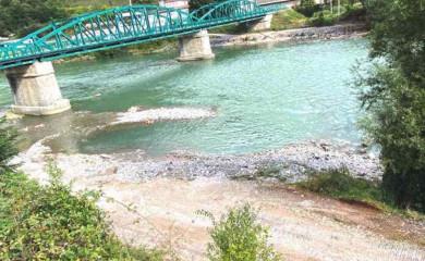 Uređeno korito rijeke Drine