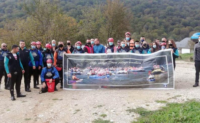 Rafting druženje mladih iz Goražda, Foče, Pala i Trnova