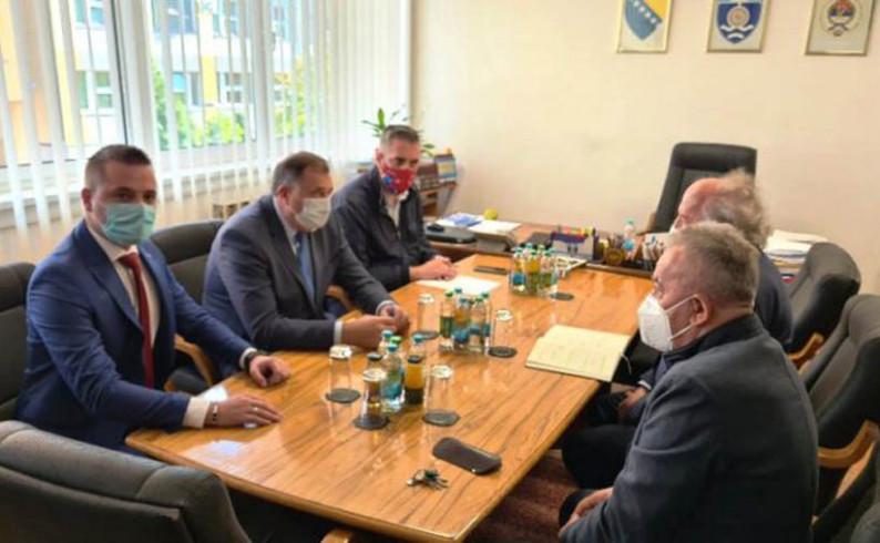 """Dodik u Foči: Naredne godine početak gradnje HE """"Buk Bijela"""""""
