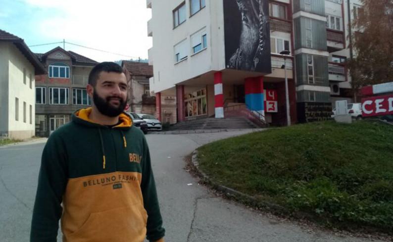 Vlado Milanović: Mural je zahvalnost mitropolitu Amfilohiju za njegovu istrajnu borbu za pravdu i pravoslavlje