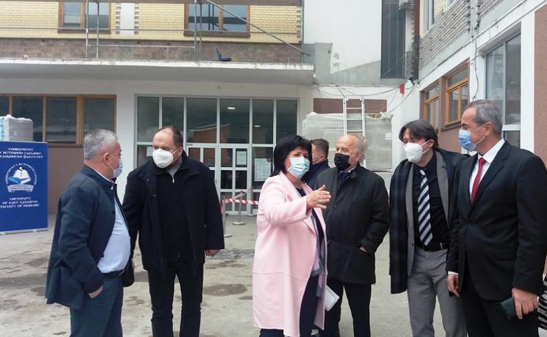 Golić: Za energetsku efikasnost četiri objekta u Foči uloženo 6,6 miliona maraka