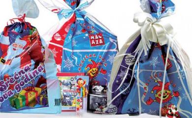 Novogodišnji paketići za 190 mališana