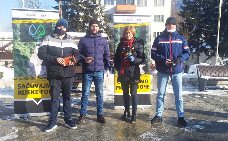 """UG """"Bjelava"""": Nastavljamo borbu protiv gradnje MHE"""