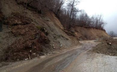 Novi zastrašujući prizori na putu Foča-Šćepan Polje