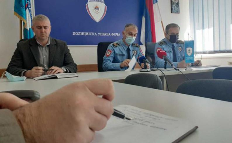 PU Foča: Smanjenje broja krivičnih djela u januaru