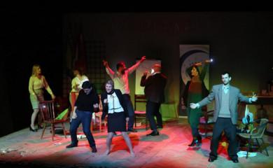 """Predstava """"Identitluk"""" na sceni Gradskog pozorišta Foča"""