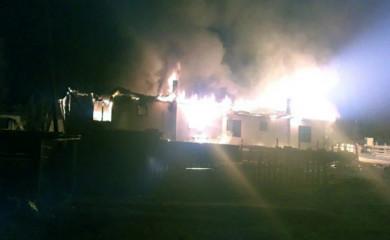 Miljevina: Izgorjele barake porodice poginulog borca i udovice ratnog invalida