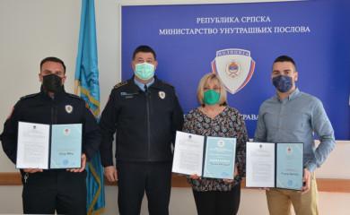 PU Foča: Priznanja istaknutim policijskim službenicima