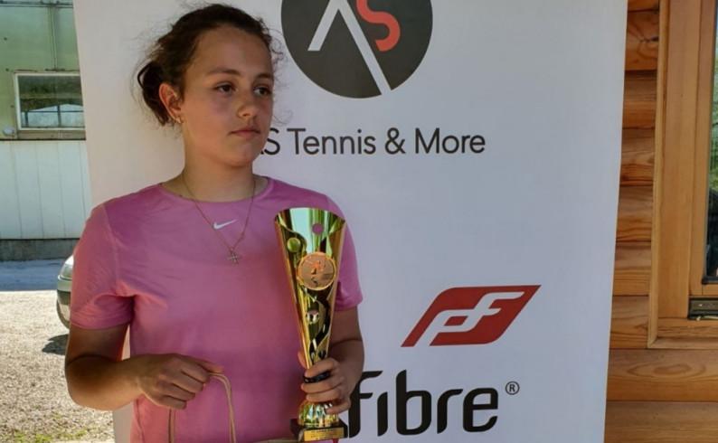 Tenis: Lana Miletić treća na Prvenstvu Srpske
