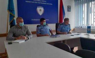 PU Foča: U aprilu manje krivičnih djela, povećan broj saobraćajnih nesreća