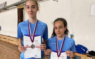 Stoni tenis: Dvije medalje Fočankama na prvenstvu za djecu