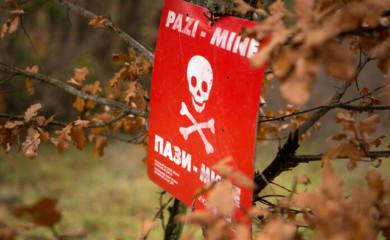 Područje oko graničnog prelaza Hum-Šćepan Polje čisti se od mina