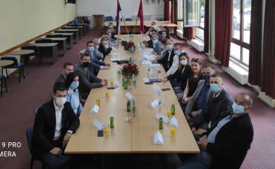 SNSD: Sa Tešanovićevom u Foči razmatrali mogućnosti podrške opštinama Stare Hercegovine