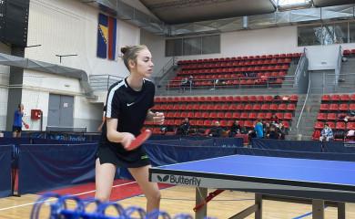 Stoni tenis: Jovana Zečević na kontrolnom turniru za reprezentaciju BiH