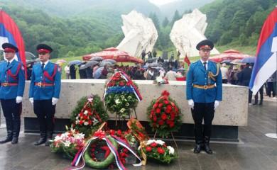 Obilježena 78. godišnjica Bitke na Sutjesci: Srbi su slobodarski narod koji njeguje antifašizam