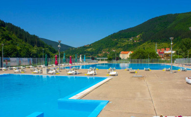 """Počinje sezona kupanja na bazenima, Akva park """"Ušće"""" spreman za posjetioce"""