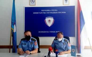 PU Foča: U maju povećan broj saobraćajnih nezgoda