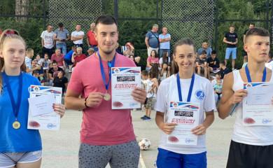 """Atletičarima """"Sutjeske"""" četiri medalje na Uličnim trkama u Kalinoviku"""