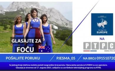 Počelo glasanje za Ritam Evrope- podržimo mlade Fočanke